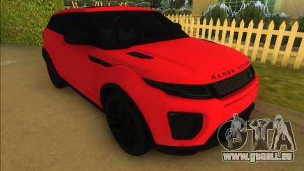 Land Rover Range Rover Evoque pour GTA Vice City