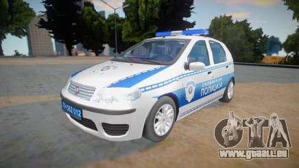 Fiat Punto Mk2 Classic Policija pour GTA San Andreas