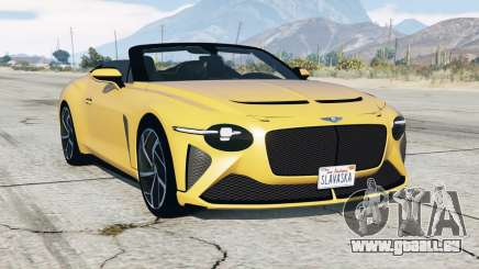 Bentley Mulliner Bacalar 2020 pour GTA 5