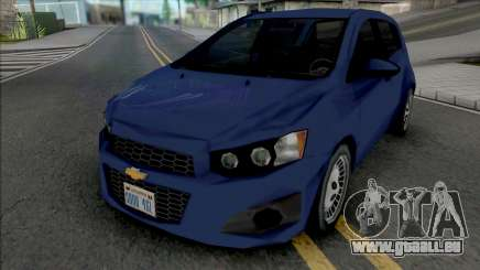 Chevrolet Sonic Hatchback 2014 Lowpoly pour GTA San Andreas