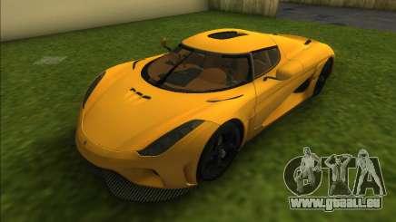 Koenigsegg Regera 2015 für GTA Vice City