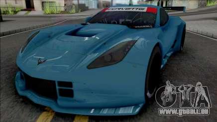 Chevrolet Corvette C7R GTE (SA Lights) pour GTA San Andreas