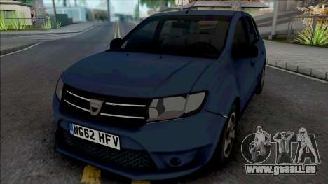 Dacia Sandero 2014 James May pour GTA San Andreas