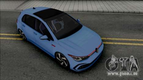 Volkswagen Golf GTI Mk8 pour GTA San Andreas