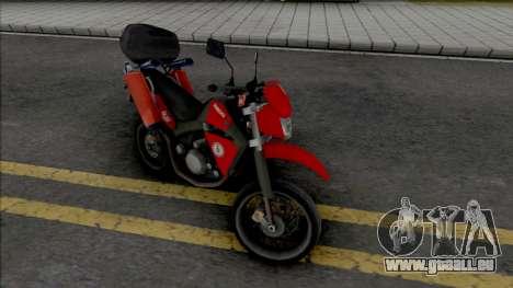 Yamaha XT600 CBMERJ (Improved) pour GTA San Andreas