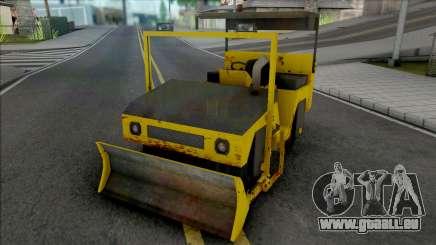 CAT Rodillo Compactador Con Topadora pour GTA San Andreas