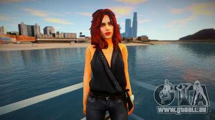 Mila Belova - NFS The Run pour GTA San Andreas
