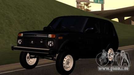 Vaz (Lada) Niva 90-HX-242 pour GTA San Andreas