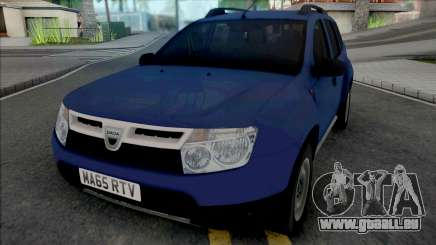 Dacia Duster 2012 UK für GTA San Andreas