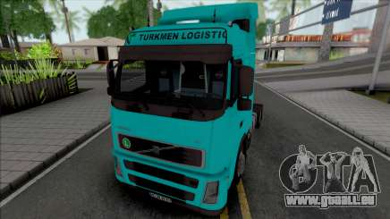 Volvo FH12 440 Turkmen Logistic pour GTA San Andreas