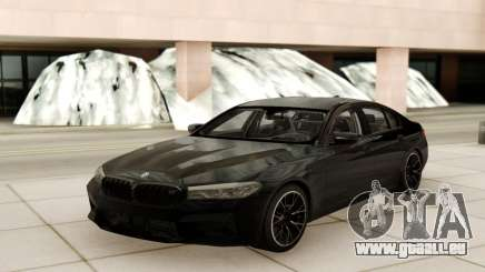 BMW M5 Competition Black Style pour GTA San Andreas
