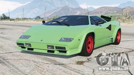Lamborghini Countach LP5000 S Quattrovalvole 1985〡add-on v1.1 pour GTA 5