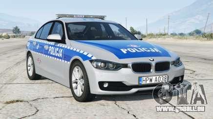 BMW 330i (F30) 2012〡Polish Police [ELS] add-on pour GTA 5