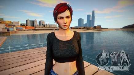 Mila Casual v2 skin pour GTA San Andreas