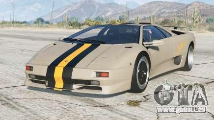 Lamborghini Diablo SV 1997〡PJ5 add-on pour GTA 5