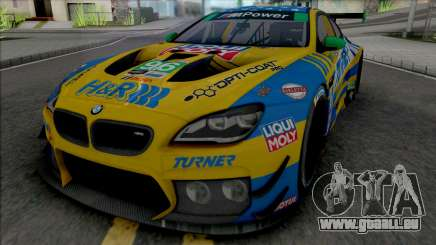 BMW M6 GT3 2018 (Turner Motorsport) für GTA San Andreas
