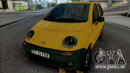 Daewoo Matiz (Romanian Plates) pour GTA San Andreas