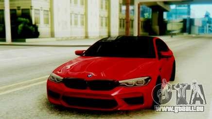 BMW M5 F90 Black Roof pour GTA San Andreas