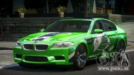 BMW M5 F10 PSI-R S6 pour GTA 4