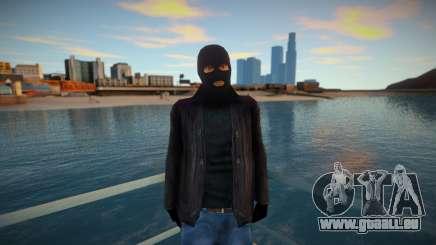 Bandit masqué et cuir pour GTA San Andreas