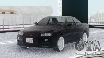 Nissan Skyline GT-R R34 LQ für GTA San Andreas
