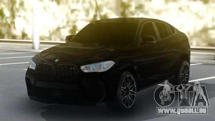BMW X6M Competition 2020 pour GTA San Andreas