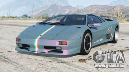 Lamborghini Diablo SV 1997〡PJ4 add-on pour GTA 5