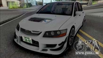 Mitsubishi Lancer Evo VII Voltex für GTA San Andreas