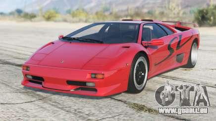 Lamborghini Diablo SV 1997〡PJ1 add-on pour GTA 5