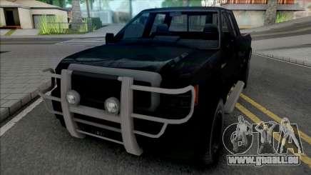 GTA V Vapid Sadler [IVF VehFuncs Extras] pour GTA San Andreas