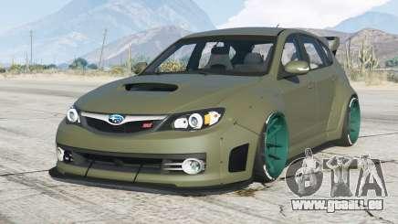 Subaru Impreza WRX STI Widebody (GRB) 2008〡add-on pour GTA 5