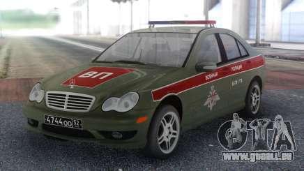 Mercedes-Benz Classe C Police militaire pour GTA San Andreas