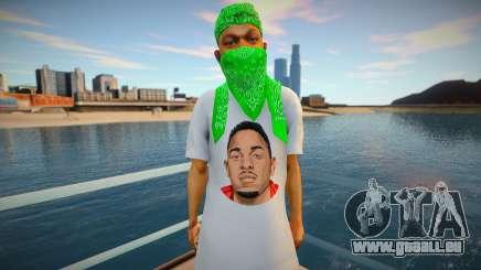 Kendrick Lamar Grove style pour GTA San Andreas