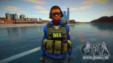 Retexture CS Skin to be a DEA pour GTA San Andreas