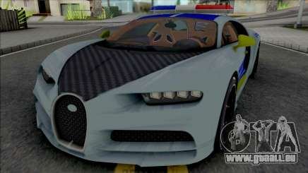 Buggati Chiron Politia Romana pour GTA San Andreas
