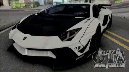Lamborghini Aventador LP700-4 LB LE v2 pour GTA San Andreas