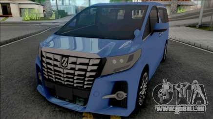 Toyota Alphard [Ultra Quality] pour GTA San Andreas