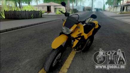 Yamaha XT660 Yellow für GTA San Andreas