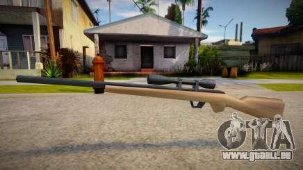New Sniper Rifle (good textures) pour GTA San Andreas