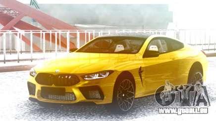 BMW M8 Gold pour GTA San Andreas