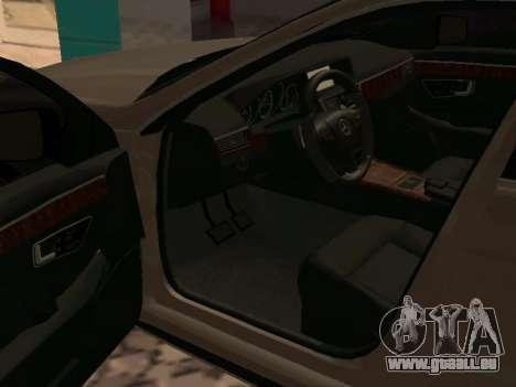 Mercedes-Benz E63 W212 AMG pour GTA San Andreas