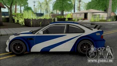 BMW M3 GTR [HQ] für GTA San Andreas