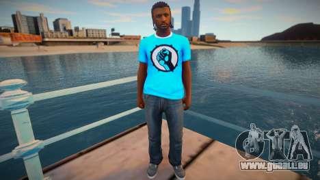 Nigga 3 from GTA Online pour GTA San Andreas