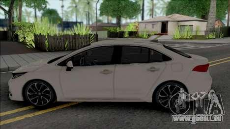 Toyota Corolla 2020 Hybrid pour GTA San Andreas