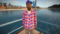 Jeune Afro-Américain pour GTA San Andreas