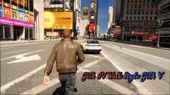 GTA IV Walk Style GTA V