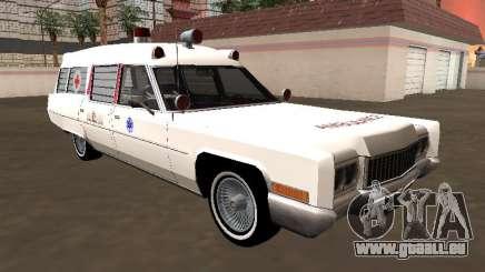 Cadillac Fleetwood Wagon 1970 Krankenwagen für GTA San Andreas