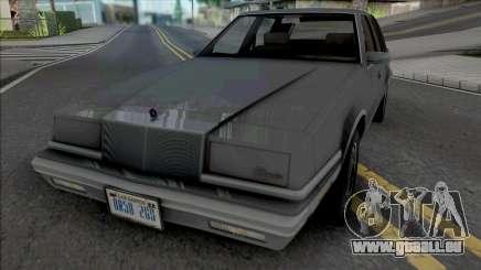 Chrysler New Yorker 1988 v1.1 pour GTA San Andreas