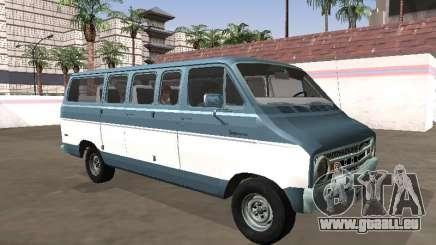 Dodge Sportsman B200 1972 Bus pour GTA San Andreas