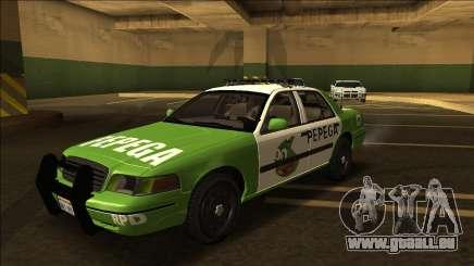 Ford Crown Victoria - Police (NFS MW Pepega) für GTA San Andreas